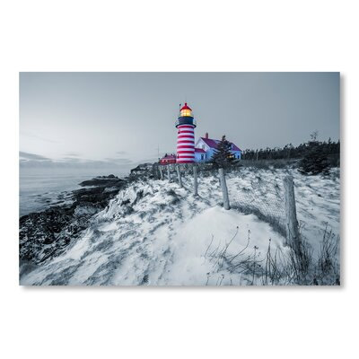 Americanflat Light House by Lina Kremsdorf Photographic Print in Grey