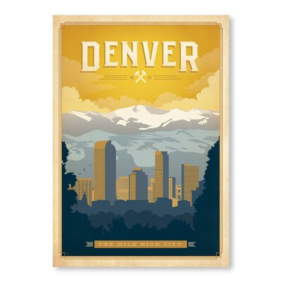 Americanflat Denver by Anderson Design Group Vintage Advertisement