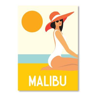 Americanflat Malibu by Alan Walsh Vintage Advertisement
