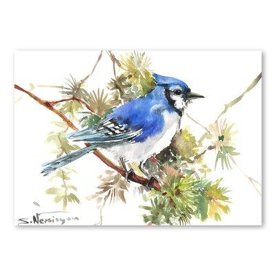 Americanflat Jay VII by Suren Nersisyan Art Print in Blue