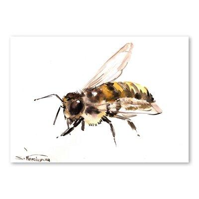 Americanflat Bee 4 by Suren Nersisyan Art Print
