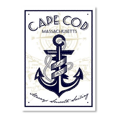 Americanflat Cape Cod by Matthew Schnepf Graphic Art Wrapped on Canvas
