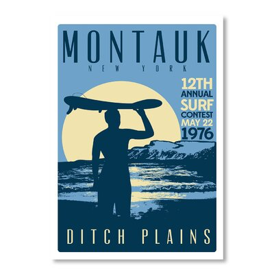 Americanflat Montauk Contest by Matthew Schnepf Vintage Advertisement