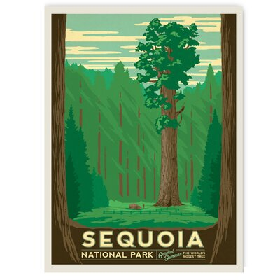 Americanflat Sequoia by Anderson Design Group Vintage Advertisement Wrapped on Canvas
