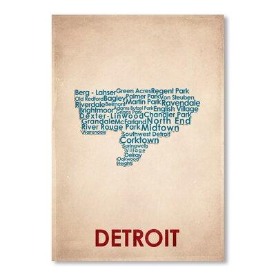 Americanflat Detroit Typography