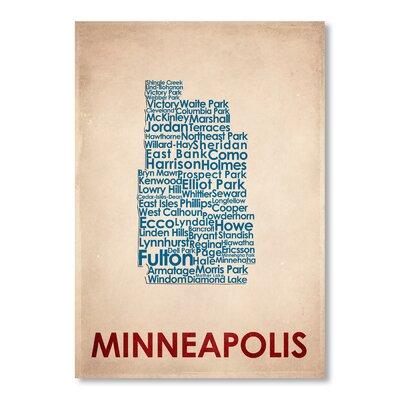 Americanflat Minneapolis Typography