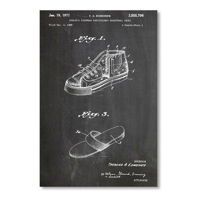 Americanflat Chuck Taylor Shoes by House of Borders Graphic Art in Grey