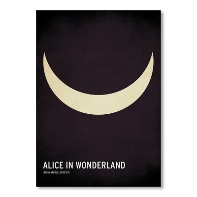 Americanflat Alice in Wonderland by Christian Jackson Vintage Advertisement in Black