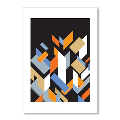 Americanflat Mies' Pieces by Liz Lyons Graphic Art Wrapped on Canvas