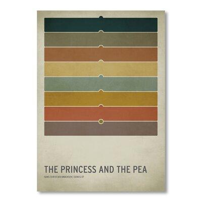 Americanflat Princess Pea by Christian Jackson Graphic Art