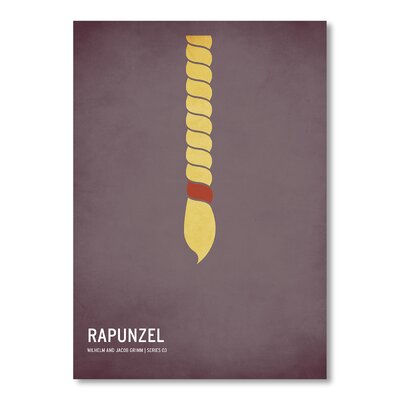 Americanflat Rapunzel by Christian Jackson Graphic Art