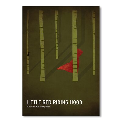 Americanflat Riding Hood by Christian Jackson Graphic Art