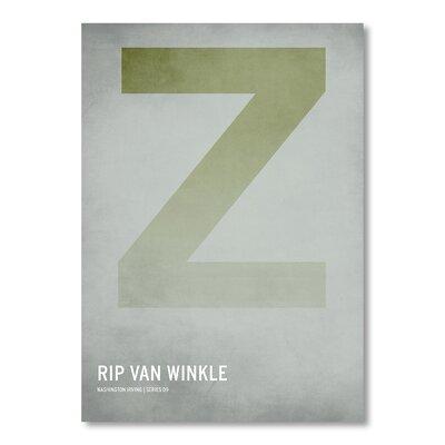 Americanflat Rip Van Winkle by Christian Jackson Typography
