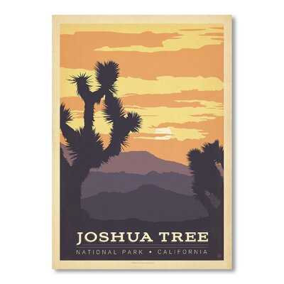 Americanflat NP - Joshua Tree 1001 by Anderson Design Group Vintage Advertisement
