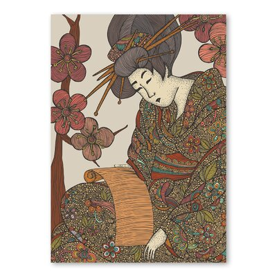 Americanflat Geisha by Valentina Ramos Graphic Art