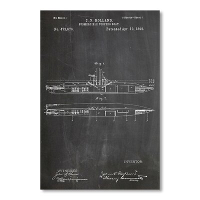 Americanflat Submarine by House of Borders Graphic Art