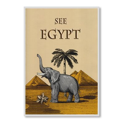 Americanflat See Egypt by Chad Hyde Graphic Art