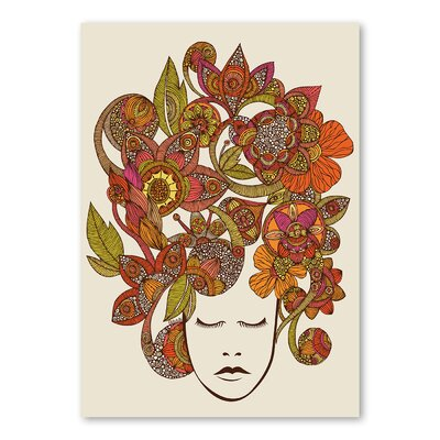 Americanflat It's All in Your Head by Valentina Ramos Graphic Art Wrapped on Canvas