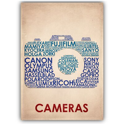 Americanflat Cameras by Americanflat Typography in Beige