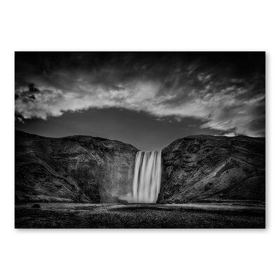 Americanflat Waterfall by Lina Kremsdorf Photographic Print in Grey