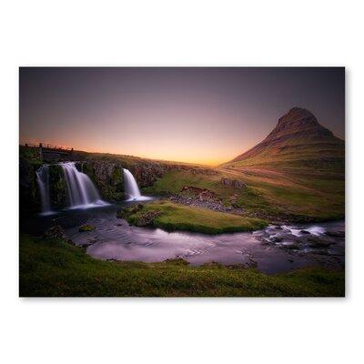 Americanflat Waterfall II by Lina Kremsdorf Photographic Print