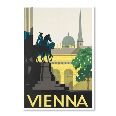 Americanflat Vienna by Chad Hyde Graphic Art Wrapped on Canvas