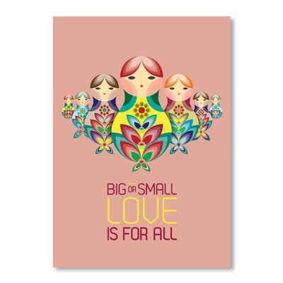 Americanflat Matryoshka Doll III by Patricia Pino Graphic Art Wrapped on Canvas