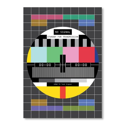 Americanflat Sale TV Signal by Patricia Pino Graphic Art