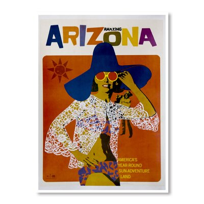 Americanflat Amazing Arizona by Chad Hyde Vintage Advertisement