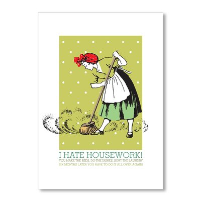 Americanflat Sweeper by Liz Lyons Vintage Advertisement Wrapped on Canvas