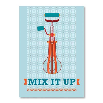 Americanflat Mix It Up by Patricia Pino Graphic Art Wrapped on Canvas