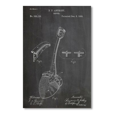 Americanflat Shovel by House of Borders Graphic Art