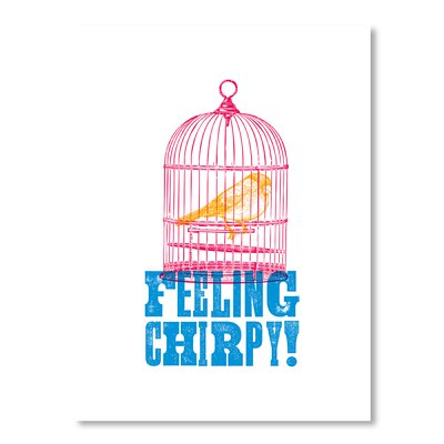 Americanflat Feeling Chirpy by Brett Wilson Graphic Art