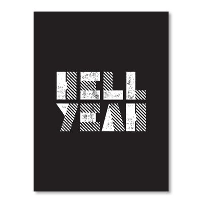 Americanflat Hell Yeah by Brett Wilson Typography