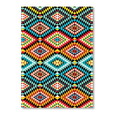 Americanflat Tribal African Pattern by Patricia Pino Graphic Art