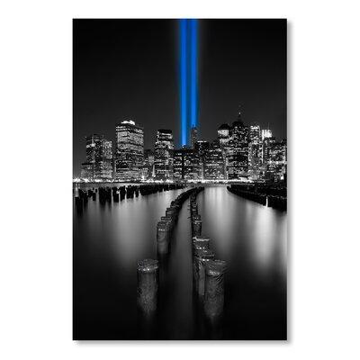 Americanflat Laser by Lina Kremsdorf Photographic Print in Black