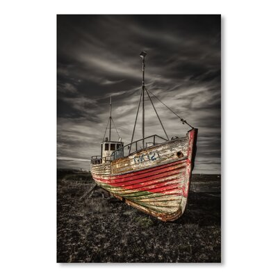 Americanflat Ship by Lina Kremsdorf Photographic Print in Grey