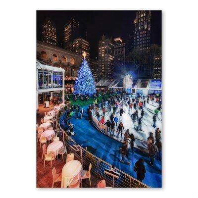 Americanflat Skating by Lina Kremsdorf Photographic Print