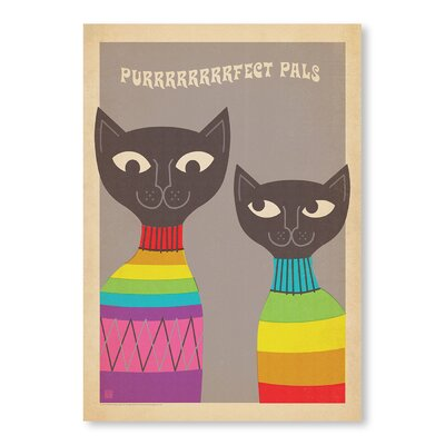 Americanflat Cats by Anderson Design Group Graphic Art