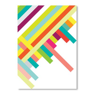 Americanflat Spring Geometry by Patricia Pino Graphic Art Wrapped on Canvas