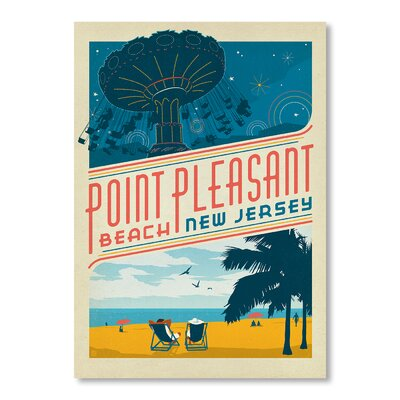 Americanflat Point Pleasant NJ by Anderson Design Group Vintage Advertisement