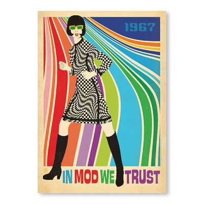 Americanflat Go-Go Dancer by Anderson Design Group Graphic Art