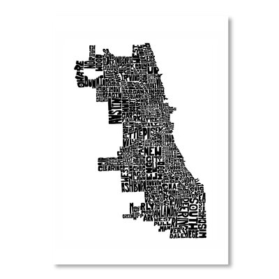 Americanflat Chicago by Joe Brewton Typography in Black