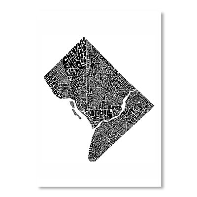 Americanflat DC by Joe Brewton Typography in Black