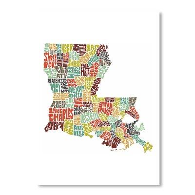 Americanflat Louisiana by Joe Brewton Typography