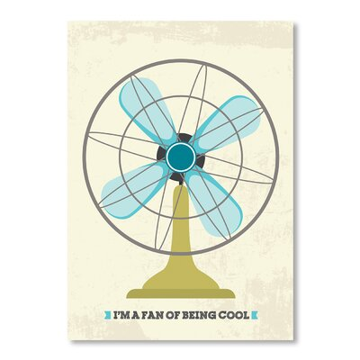 Americanflat Retro Fan by Patricia Pino Graphic Art