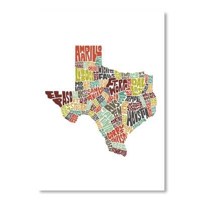 Americanflat Texas by Joe Brewton Typography