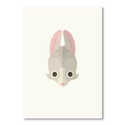 Americanflat Rabbit by Christian Jackson Graphic Art