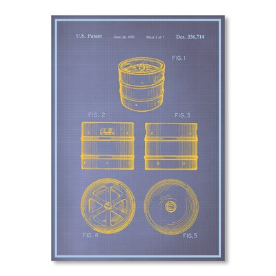 Americanflat Keg I by Blue Print Images Graphic Art