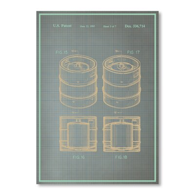 Americanflat Keg II by Blue Print Images Graphic Art
